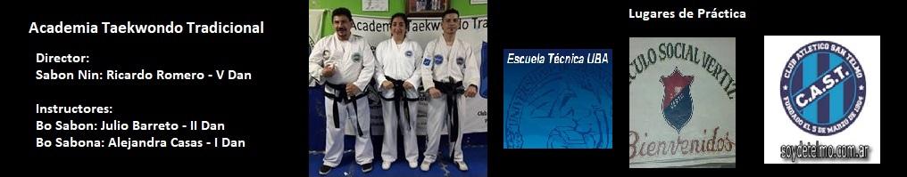 Academia Taekwondo  Tradicional – CAST – Vertiz ETEC -UBA